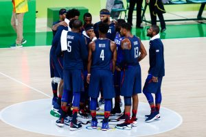 Rio de Janeiro, Brazil. August 6, 2016. Basketball Men's preliminary round group A, match between USA and China at the 2016 Summer Olympic Games in Rio De Janeiro. © Petr Toman/World Sports Images