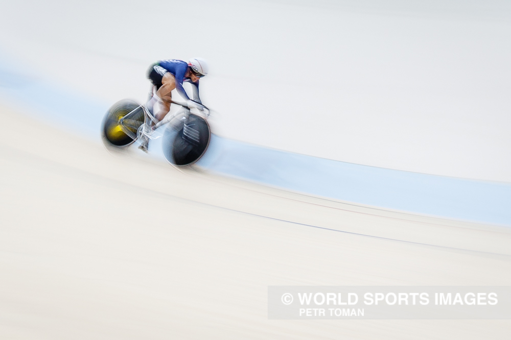 Rio de Janeiro, Brazil. August 16, 2016. Women's Omnium Flying Lap 56 at the 2016 Summer Olympic Games in Rio De Janeiro. © Petr Toman/World Sports Images