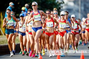 ATHLETICS - WOMEN'S 20KM RACE WALK